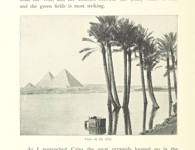 "River Nile from ""In the Track of the Sun; readings from the diary of a globe trotter ... With illustrations"""