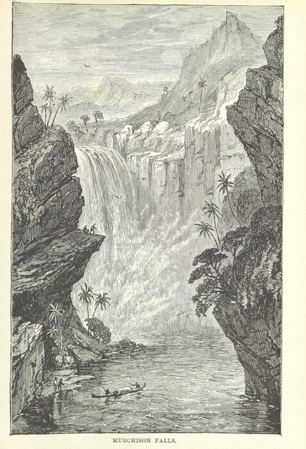 """waterfall from """"Heroes of South African Discovery ... Fourth edition"""""""