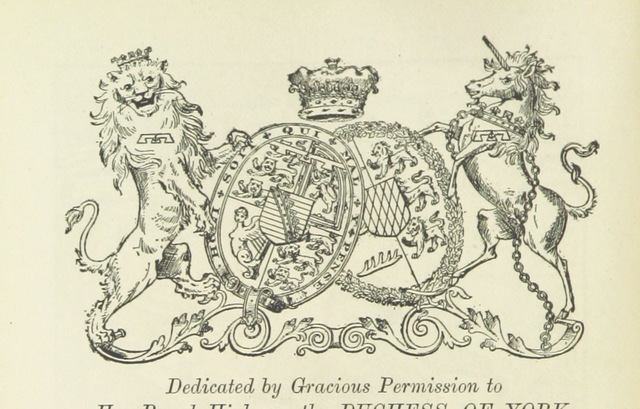 """coat of arms from """"Phil Thorndyke's Adventures: and other stories. By F. M. Wilbraham, E. M. Piper, Lady C. Thynne, and others, etc"""""""
