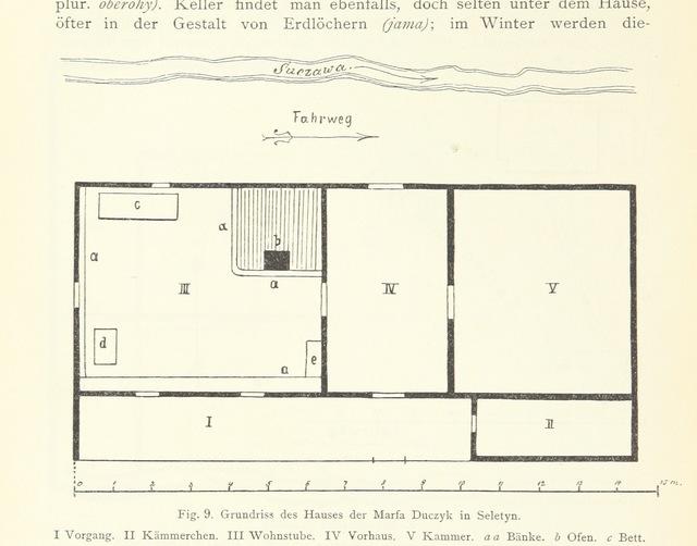 """map from """"Die Huzulen. Ihr Leben, ihre Sitten und ihre Volksüberlieferung, etc"""""""
