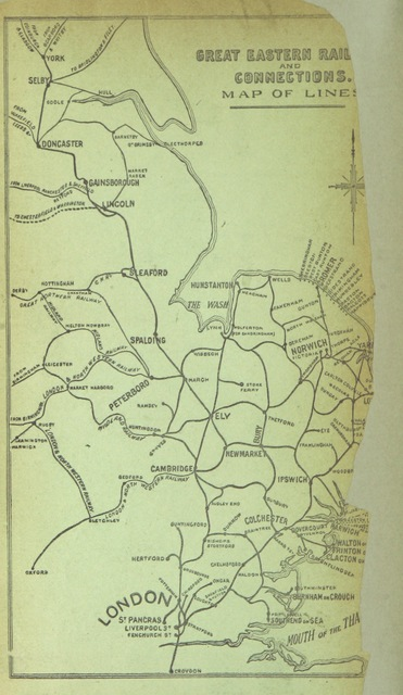 "map from ""Holiday Notes in East Anglia, etc"""