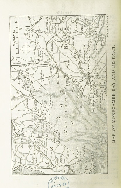 "map from ""Waddington's Guide to Morecambe and Lancaster, etc"""