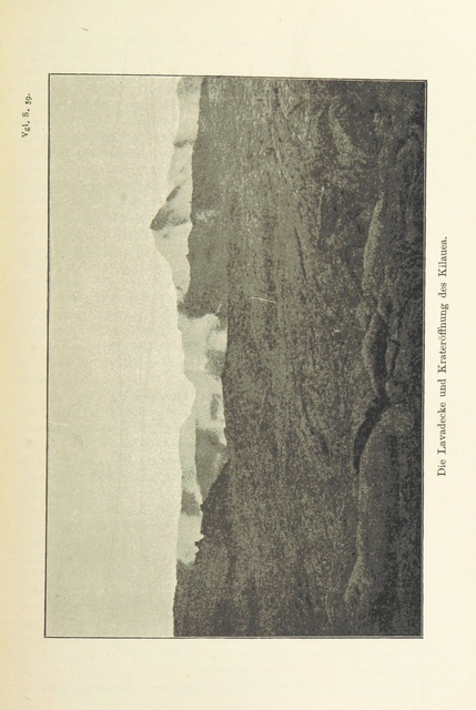 """Nature from """"Die Hawaiischen Inseln ... Mit ... Karten, etc. (Literatur-Uebersicht.)"""""""