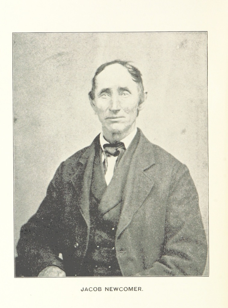 """Portrait from """"The Old Pike. A history of the national road, with incidents, accidents, and anecdotes thereon. Illustrated"""""""