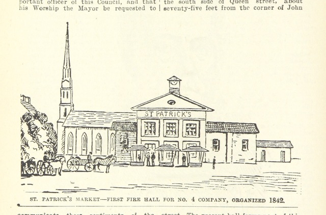 """Toronto from """"Robertson's Landmarks of Toronto. A collection of historical sketches of the old town of York from 1792 until 1833 (till 1837) and of Toronto from 1834 to 1893 (to 1914). Also ... engravings ... Published from the Toronto """"Evening Telegram."""" 6 ser"""""""