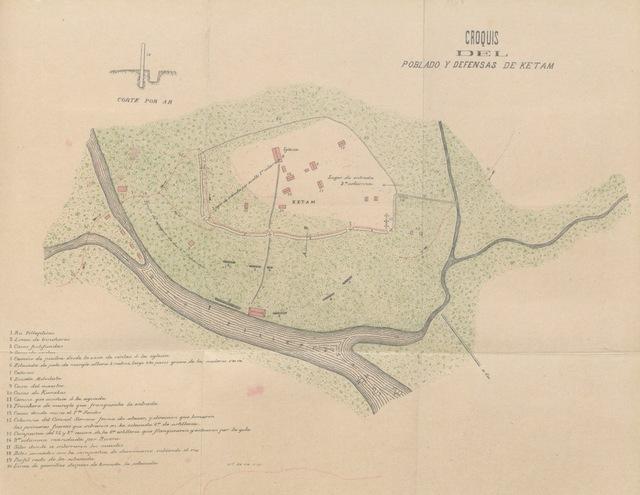 """map from """"Estudios sobre Carolinas. La isla de Ponapé. Geografia, etnografia, historia ... Con un prólogo del ... Teniente General D. Valeriano Weyler. [With maps and plans.]"""""""