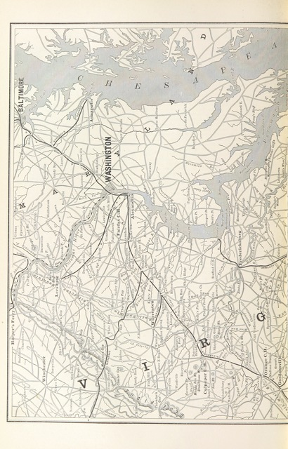"""map from """"History for ready reference, from the best historians ... Their own words in a complete system of history ... With ... maps ... by A. C. Reiley"""""""