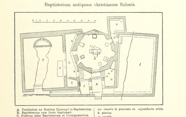"map from ""Rambles and Studies in Bosnia-Herzegovina and Dalmatia. With an account of the proceedings of the Congress of Archæologists and Anthropologists held in Sarajevo, August 1894. [With illustrations.]"""