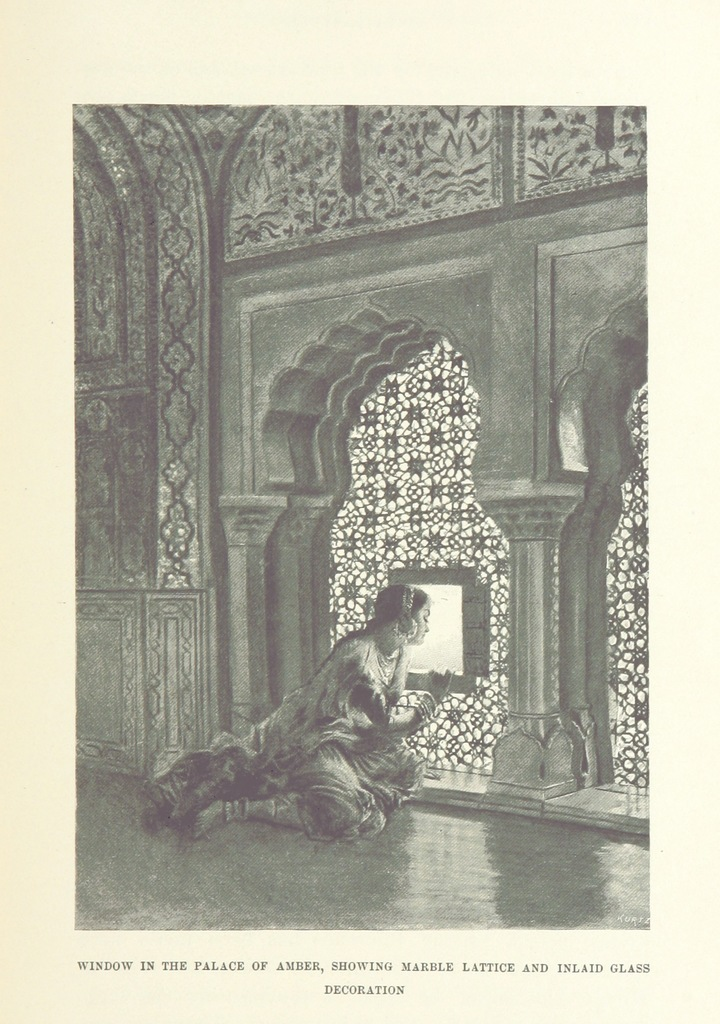 """Amber Palace from """"From the Black Sea through Persia and India ... Illustrated by the author"""""""