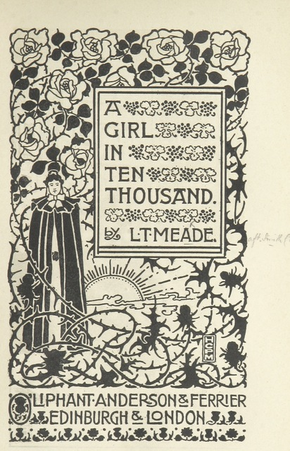 "cover from ""A Girl in Ten Thousand"""