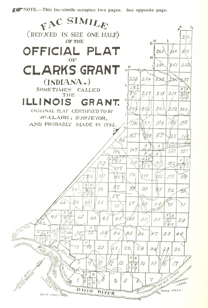 """map from """"Conquest of the Country Northwest of the River Ohio, 1778-1783, and life of Gen. George Rogers Clark. Over one hundred and twenty-five illustrations. With numerous sketches of men who served under Clark, etc"""""""