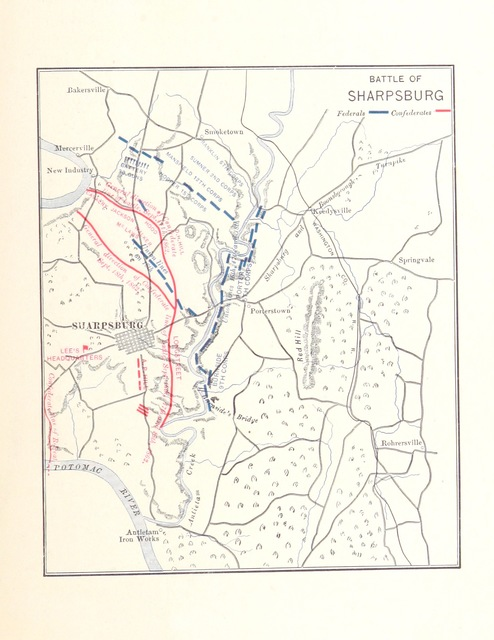 """map from """"From Manassas to Appomattox. Memoirs of the civil war in America ... Illustrated, etc"""""""