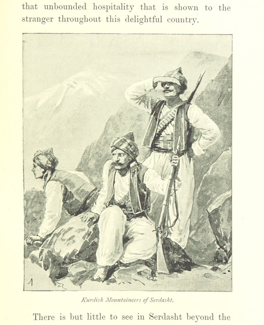 "People from ""From Batum to Baghdad viâ Tiflis, Tabriz, and Persian Kurdistan ... With illustrations and maps"""