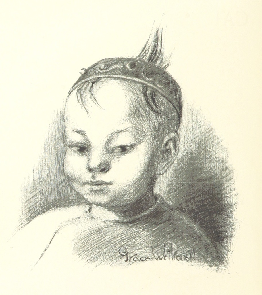 "portrait from ""The Cat and the Cherub, and other stories"""