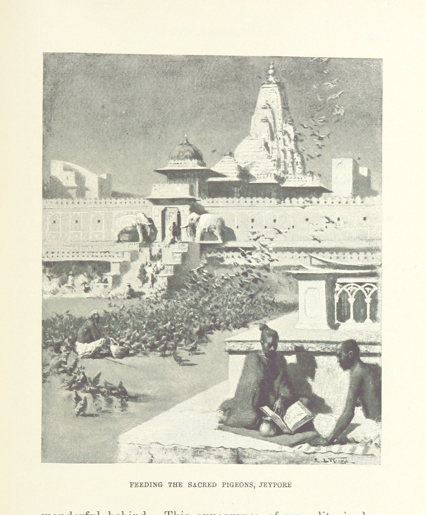 "Rajasthan from ""From the Black Sea through Persia and India ... Illustrated by the author"""