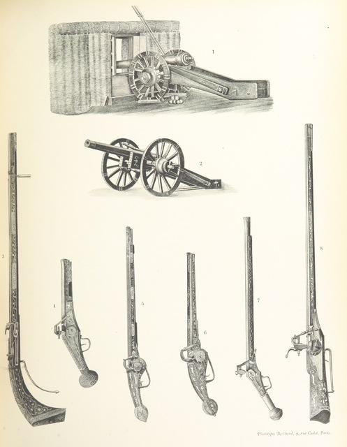 """technology from """"La Guerre de 1557 en Picardie ... Par E. Lemaire, E. Fleury ... É. Theillier [and others], etc. [Illustrated.]"""""""