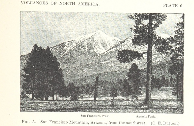 """Agassiz Peak from """"Volcanoes of North America, etc"""""""