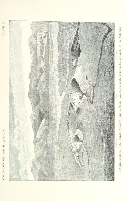 "Black Rock Desert from ""Volcanoes of North America, etc"""