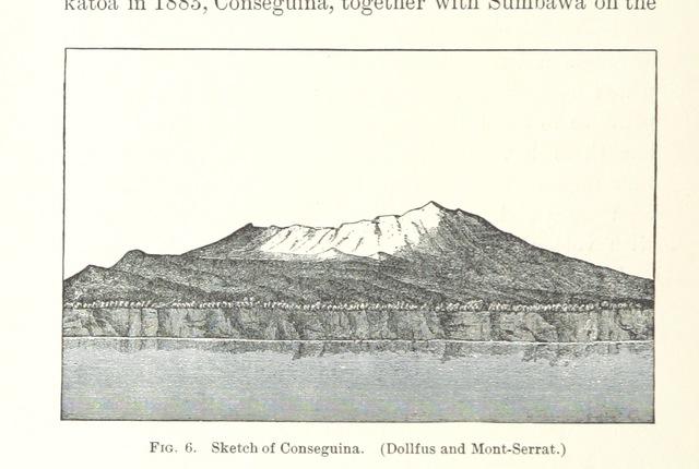 "Cosigüina from ""Volcanoes of North America, etc"""