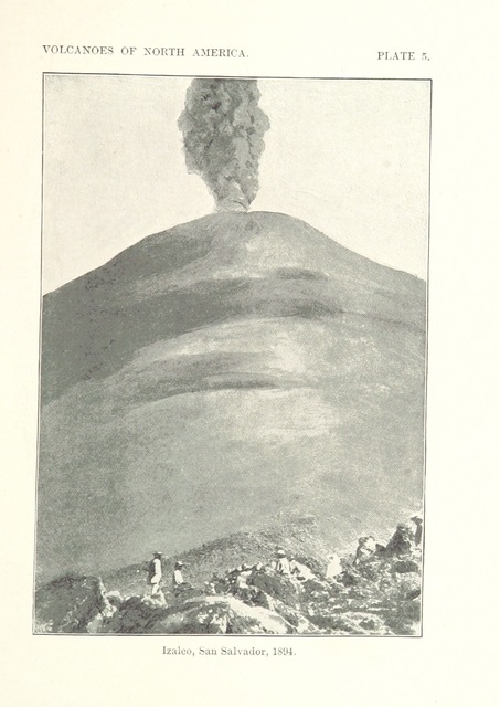 "El Salvador from ""Volcanoes of North America, etc"""