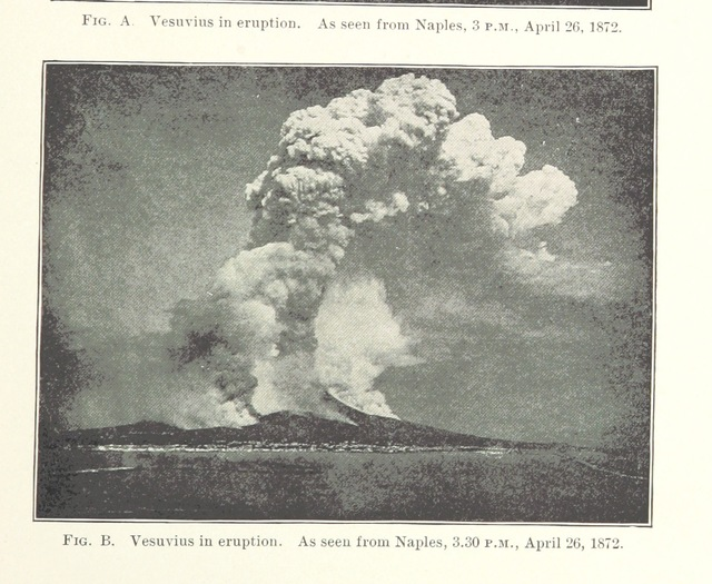 """Gulf of Naples from """"Volcanoes of North America, etc"""""""
