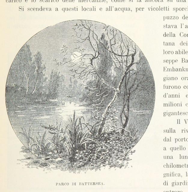 """London from """"Inghilterra, Scozia e Irlanda. Opera illustrata con 494 incisioni, etc"""""""