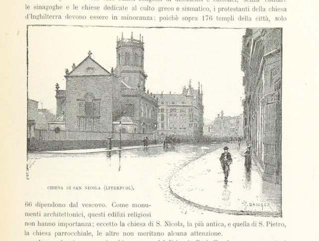 """Merseyside from """"Inghilterra, Scozia e Irlanda. Opera illustrata con 494 incisioni, etc"""""""