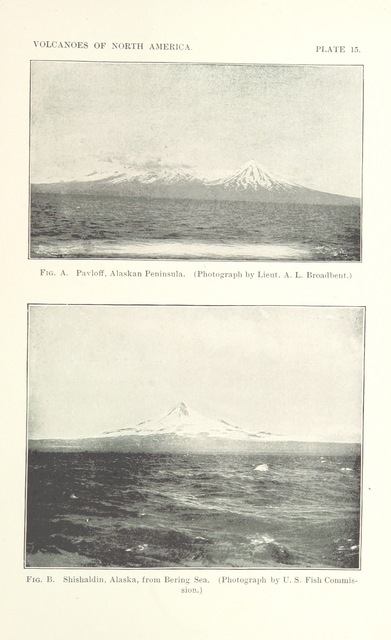 "Mount Pavlof from ""Volcanoes of North America, etc"""