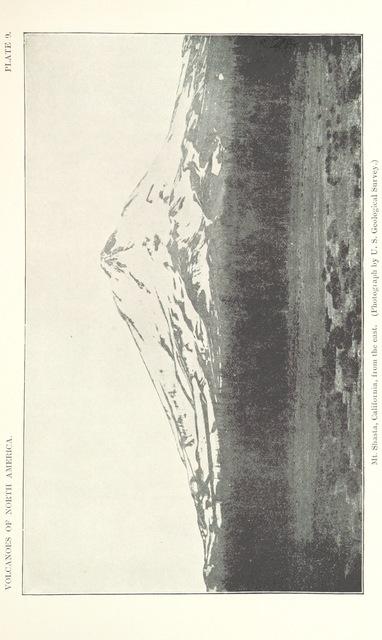 "Mount Shasta from ""Volcanoes of North America, etc"""
