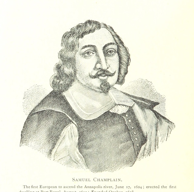 "portrait from ""A Short History of Annapolis Royal, the Port Royal of the French, from its settlement in 1604 to the withdrawal of the British troops in 1854"""