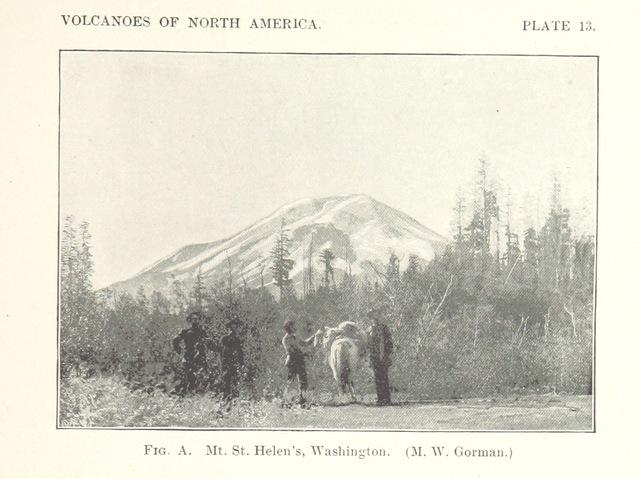 "Washington from ""Volcanoes of North America, etc"""