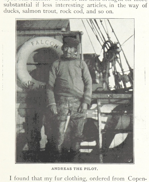 """Andreas the pilot from """"Northward over the """"Great Ice"""": a narrative of life and work along the shores and upon the interior ice-cap of Northern Greenland in the years 1886 and 1891-1897 ... With maps, diagrams, and about eight hundred illustrations"""""""