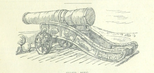 """cannon from """"Tours in Galloway, etc. [Signed, W. M'C.]"""""""