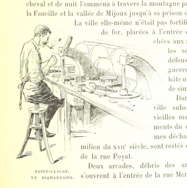 """male from """"Les Montagnes de France. Le Jura et le Pays Franc-Comtois, etc"""""""