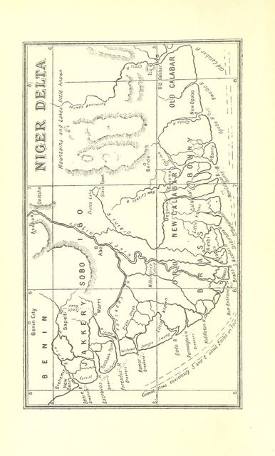 "map from ""In the Niger Country ... With two maps"""