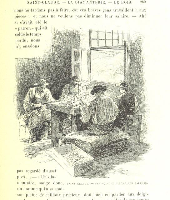 """People from """"Les Montagnes de France. Le Jura et le Pays Franc-Comtois, etc"""""""