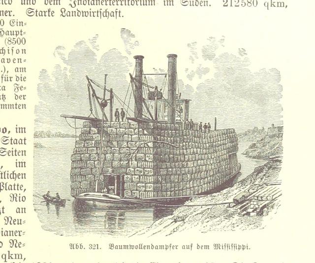 """boat from """"Illustriertes kleineres Handbuch der Geographie ... Dritte, verbesserte Auflage bearbeitet von Dr. W. Wolkenhauer"""""""