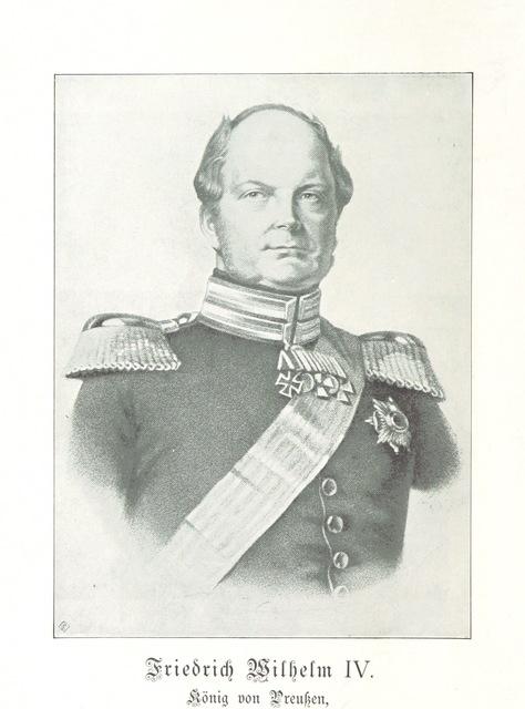 """Friedrich_Wilhelm_IV from """"Ueber die Revolution in Preussen und Deutschland 1848/49. Historische Studie. (Nachtrag, etc.)"""""""
