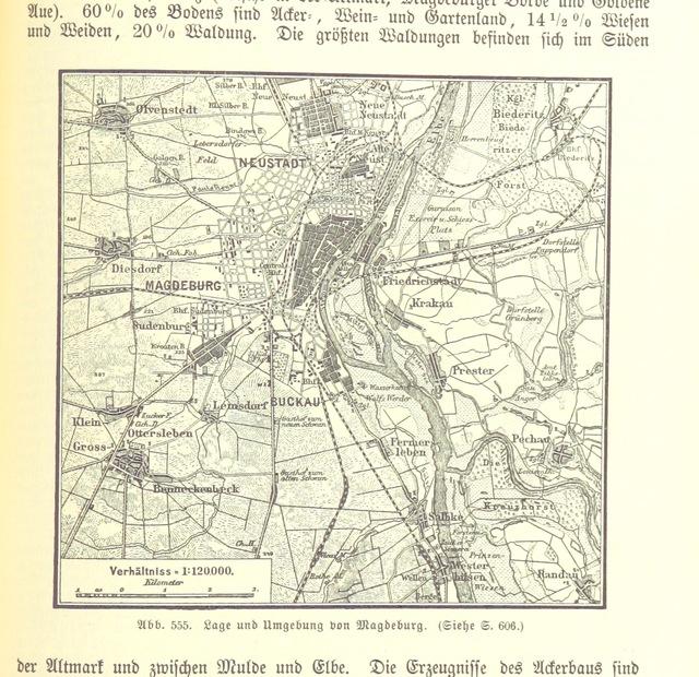 """map from """"Illustriertes kleineres Handbuch der Geographie ... Dritte, verbesserte Auflage bearbeitet von Dr. W. Wolkenhauer"""""""