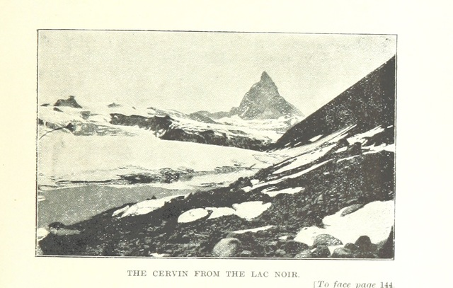 "Mont Cervin from ""Alpine Memories by Émile Javelle. With a biographical and literary notice by Eugène Rambert. Translated and with an introduction by W. R. Chesson"""