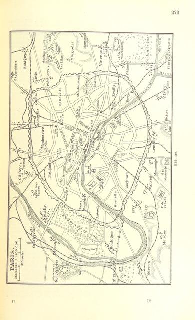 """Paris from """"Illustriertes kleineres Handbuch der Geographie ... Dritte, verbesserte Auflage bearbeitet von Dr. W. Wolkenhauer"""""""
