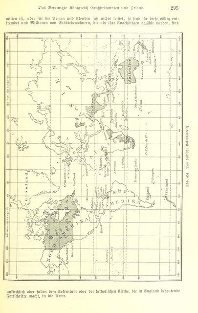 """world from """"Illustriertes kleineres Handbuch der Geographie ... Dritte, verbesserte Auflage bearbeitet von Dr. W. Wolkenhauer"""""""