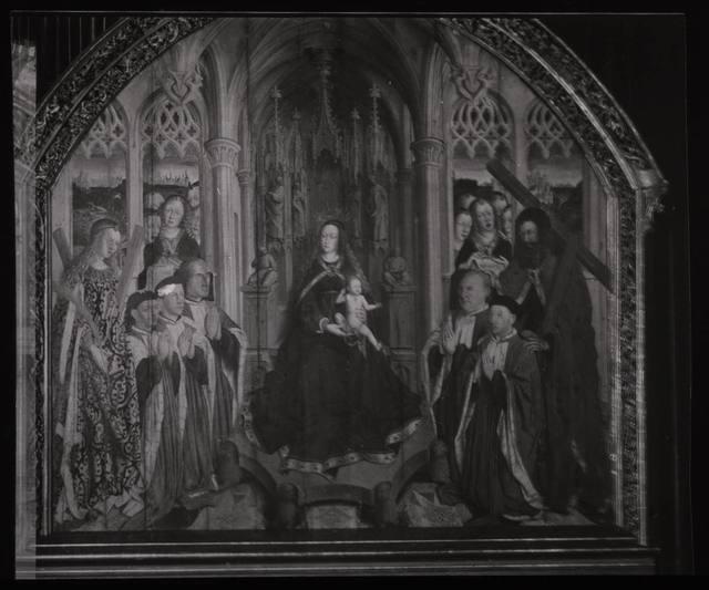 Luis Dalmau. Virgen de los Concelleres (Mus. Barcelona) Espasa Calpe
