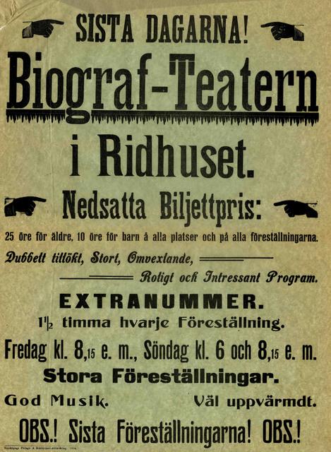 Biograf-Teatern i Ridhuset