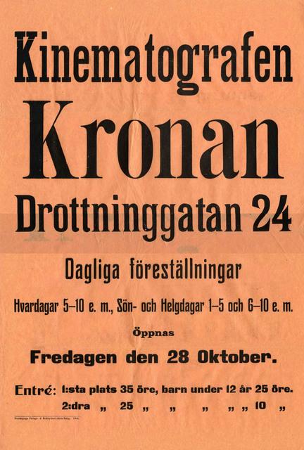 Kinematografen Kronan
