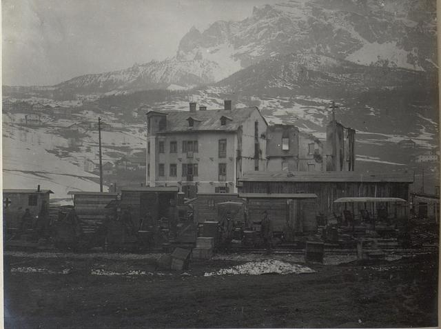 Bahnhof Cortina di Ampezzo.