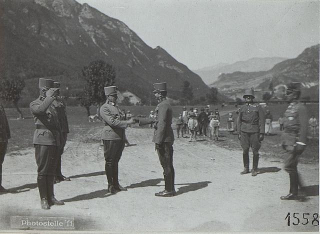 Besuch des Kaisers in Persen