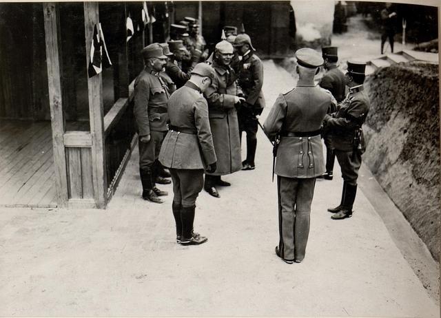 Besuch S.köngl. Hoh.Prinz Christian v.Sachen und Exz.Graf Bothmer Narajow