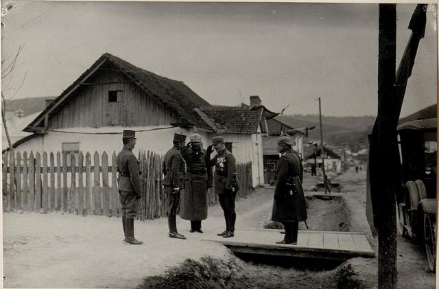 Besuch S.köngl.Hoh.Prinz Christian v.Sachen und Exz.Graf Bothmer Narajow