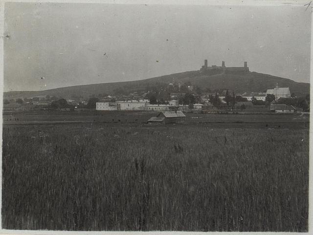 Checiny vorne Gefängnis für Sträflinge. Juli 1915